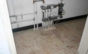 Vloerverwarming haarlem.nl - Vloerverwarming, Vloerverwarming na oplevering